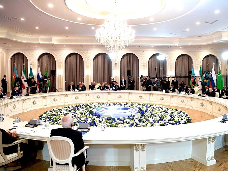 """На саммите в Актау подписана Конвенция о правовом статусе Каспийского моря"""" />"""