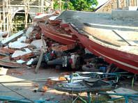 В Индонезии в результате землетрясения погибли уже 347 человек