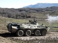 Российские военные начали масштабные учения в Абхазии, в которых участвуют мотострелковые подразделения, а также морская пехота Черноморского флота РФ