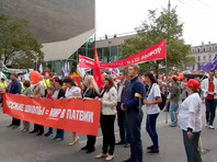 Защитники русского языка провели в Латвии пятитысячное шествие против полного перехода школ на латышский