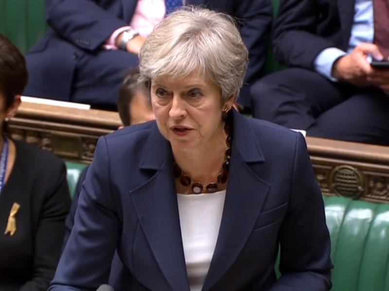 Британские власти будут работать над тем, чтобы действующие санкции Евросоюза против России были расширены, заявила премьер-министр Великобритании Тереза Мэй в Палате общин
