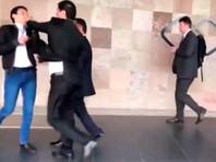 В Варшаве на совещании ОБСЕ члены официальной делегации Таджикистана подрались с оппозиционерами (ВИДЕО)