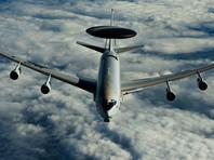 Самолет-радар AWACS блока НАТО провел разведку у западных границ России