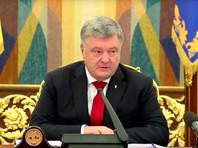 """Порошенко рассказал о """"перехвате"""" данных российских военных спутников"""