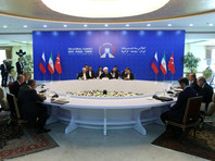 Сирийский кризис может быть разрешен только мирным путем, решили участники саммита в Тегеране