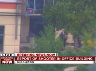 В Висконсине мужчина открыл стрельбу в офисном здании, ранил четверых и был застрелен