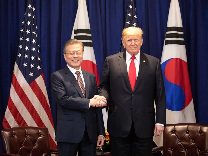 """Новый саммит США-КНДР пройдет в прежнем формате, но вряд ли снова в Сингапуре, сказал Трамп"""" />"""