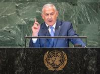 Нетаньяху рассказал  Генассамблее ООН о секретном хранилище ядерных материалов в Иране