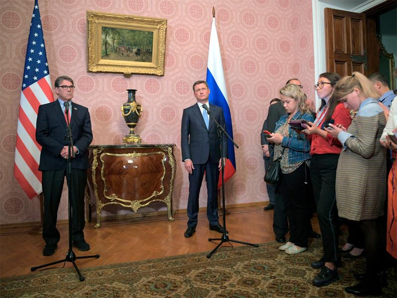 """Глава Минэнерго США: против российского энергетического сектора могут быть введены новые санкции"""" />"""