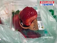 В Австралии по делу о клубнике с иглами, продававшейся в магазинах,  арестован подросток
