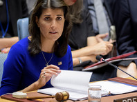 Постоянный представитель США при ООН Никки Хейли обвинила Россию в том, что та содействовала спецслужбам КНДР в убийстве Ким Чен Нама