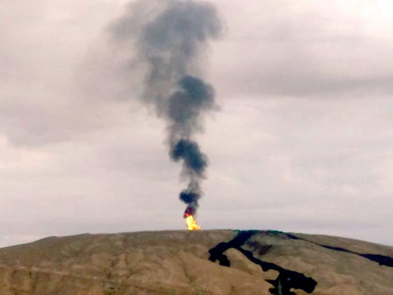 """В Азербайджане извергся второй по величине в мире грязевой вулкан"""" />"""