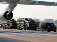 Выгрузка зенитных ракетных комплексов С-300, авиабаза «Хмеймим», 26 ноября 2015 года
