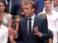 Макрон пообещал, что Франция первой в мире закроет все ТЭЦ