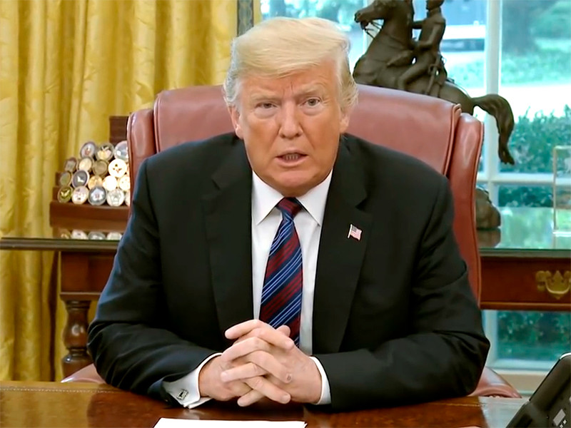 Американский президент Дональд Трамп заявил, что генпрокурор США и глава Минюста Джефф Сешнс должен провести расследование и установить, кто является автором скандальной публикации в газете The New York Times