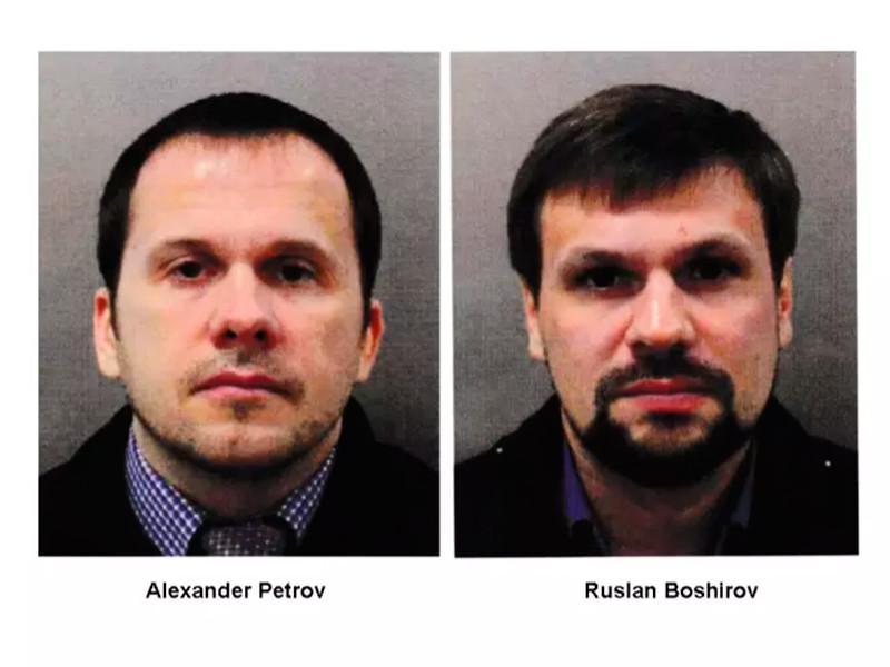 Британская полиция назвала имена двух россиян, подозреваемых в отравлении Скрипалей