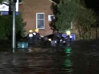 """Ураган """"Флоренс"""" достиг побережья США, вызвав дожди и наводнения"""