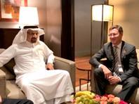 По окончании заседания планируется пресс-конференция для СМИ, в которой, как ожидается, примут участие Александр Новак и его саудовский коллега министр энергетики, промышленности и минеральных ресурсов Халед аль-Фалех