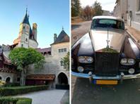У задержанного во Франции украинца изъяли замок, винтажный Rolls Royce и три работы Сальвадора Дали