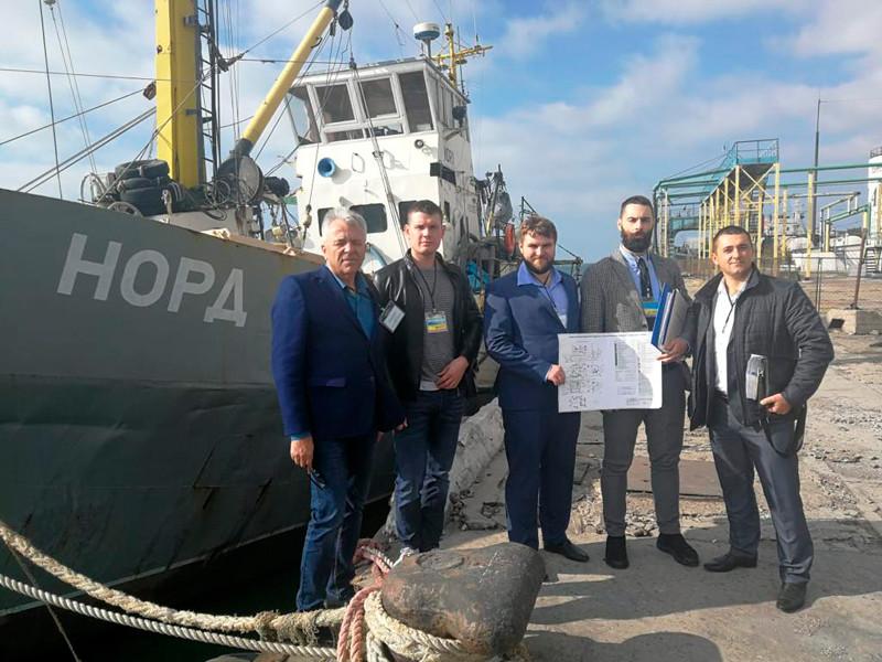 """Украина изъяла задержанное российское судно """"Норд"""""""" />"""