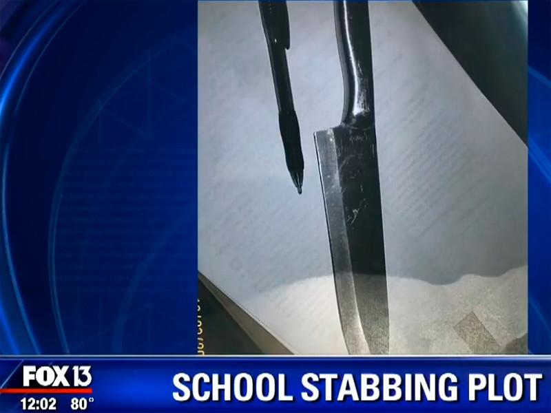 """Во Флориде арестованы две малолетние школьницы-сатанистки, готовившиеся зарезать других учеников"""" />"""