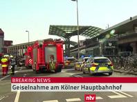 Полиция задержала человека, захватившего заложницу на главном вокзале Кельна
