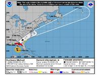 """В штате Джорджия введен режим чрезвычайной ситуации из-за урагана """"Майкл"""""""