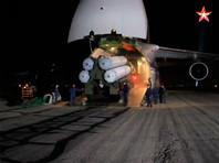 """Четыре ЗРК С-300 доставлены в Сирию самолетом """"Руслан"""""""