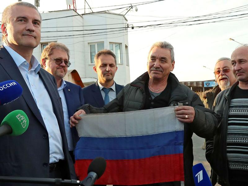 """Экипаж задержанного на Украине судна """"Норд"""" вернулся в Крым, кроме капитана"""" />"""