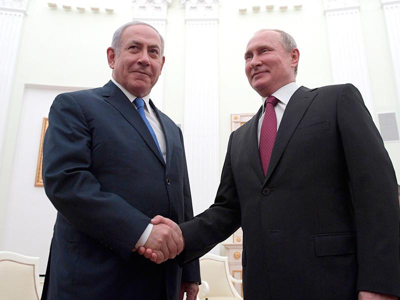 """Нетаньяху рассказал о договоренности встретиться с Путиным"""" />"""