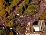 Полмиллиона человек вышли на улицы Лондона, требуя нового референдума по Brexit (ВИДЕО, ФОТО)