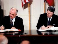 Договор о ликвидации ракет средней и меньшей дальности (ДРСМД) был подписан генеральным секретарем ЦК КПСС Михаилом Горбачевым и президентом США Рональдом Рейганом 8 декабря 1987 года в ходе советско-американской встречи на высшем уровне в Вашингтоне