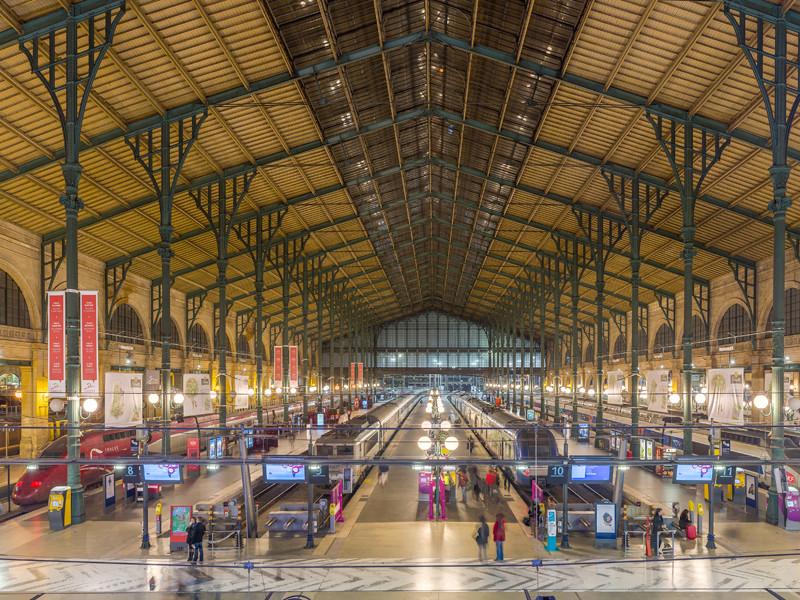 Северный вокзал, Париж