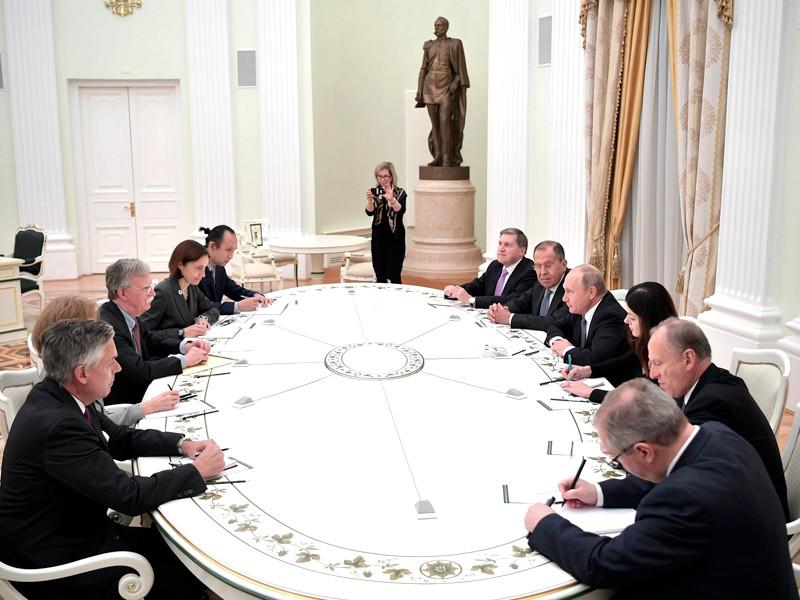 """Болтон назвал угрозой наличие российских ракет в Европе, а не выход США из ДРСМД"""" />"""