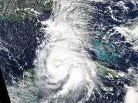 Скорость ветра рядом с эпицентром атмосферного явления составляет примерно 49 м/с, оно классифицируется как ураган второй степени из пяти возможных по шкале Саффира-Симпсона