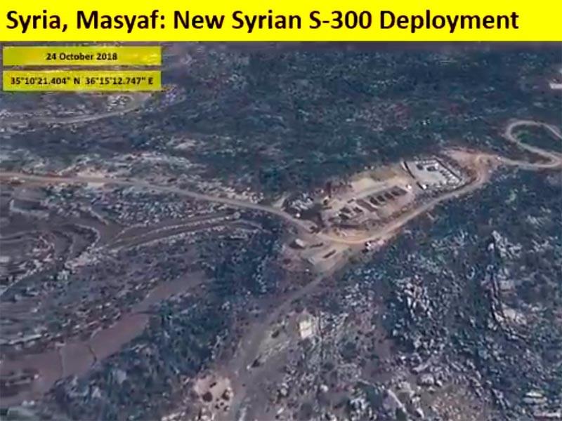 """Израильтяне нашли на спутниковых снимках четыре пусковые установки на севере Сирии"""" />"""