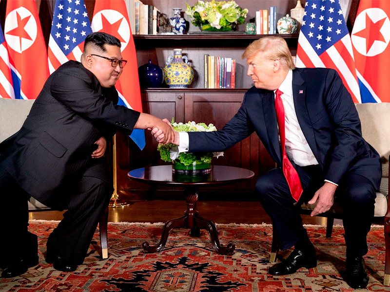 """Трамп пообещал показать письма от Ким Чен Ына"""" />"""