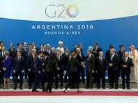Путин и Трамп не поприветствовали друг друга на фотографировании перед саммитом G20