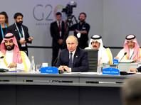 В зале заседания президенты РФ и США заняли свои места, расположенные за круглым столом через несколько кресел