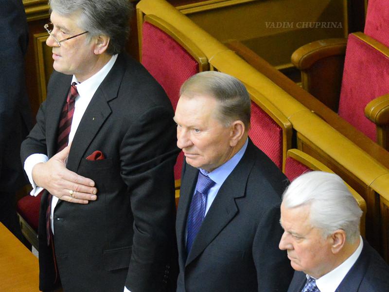 """Три экс-президента Украины призвали парламент не отменять выборы в случае введения военного положения"""" />"""
