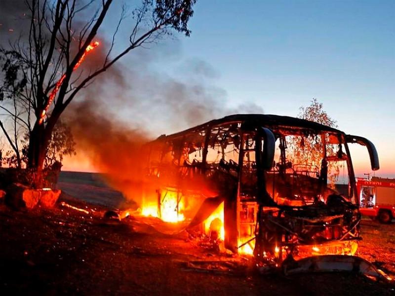 """12 израильтян ранены в результате ракетных обстрелов из сектора Газа"""" />"""