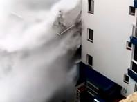 Большинство популярных курортов Испании затопило из-за шторма