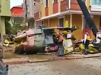 Четверо турецких военнослужащих погибли при падении вертолета в жилом квартале Стамбула (ФОТО, ВИДЕО)