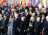 """Белый дом: за обедом в Елисейском дворце Трамп """"продуктивно"""" побеседовал с Путиным, Меркель и Макроном о ракетах, Сирии и санкциях"""