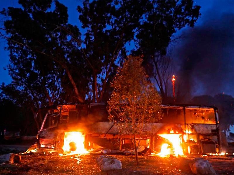 В секторе Газа продолжаются бои, начавшиеся в ночь на понедельник, 12 ноября, с обстрела палестинскими боевиками территории Израиля