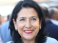 """Независимый кандидат Саломе Зурабишвили, поддерживаемая правящей партией """"Грузинская мечта"""", одержала победу во втором туре выборов президента Грузии по итогам подсчета 100% голосов избирателей"""