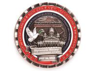 В США выпустили монету в честь саммита Трамп - Путин с ошибками в русских надписях