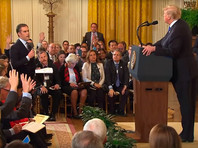 Журналист CNN взбесил Трампа на пресс-конференции и лишился допуска в Белый дом