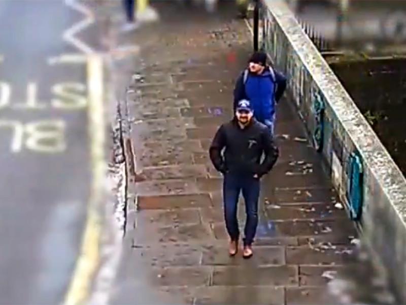 Скотленд-Ярд опубликовал три видеозаписи с подозреваемыми в отравлении экс-полковника ГРУ Сергея Скрипаля и его дочери Юлии 4 марта в британском Солсбери