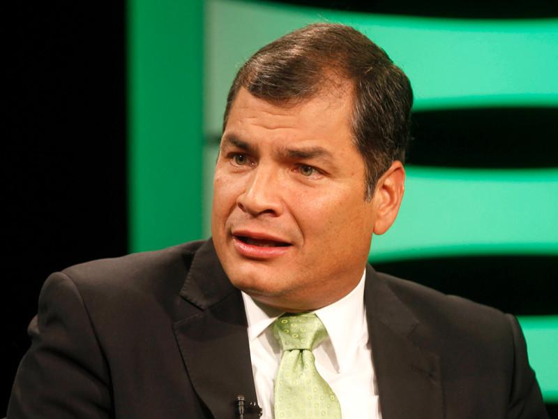 """Экс-президент Эквадора Корреа запросил убежище в Бельгии"""" />"""